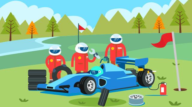 第二课:竞速赛车